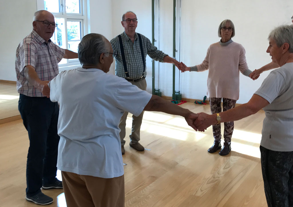 Parkinson dans i rundkreds
